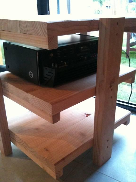 r alisation d 39 un meuble audio en bois massif le forum. Black Bedroom Furniture Sets. Home Design Ideas