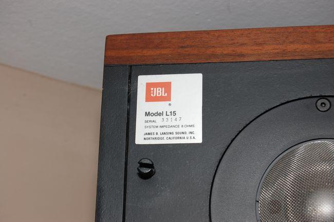 Mes JBL L15 File