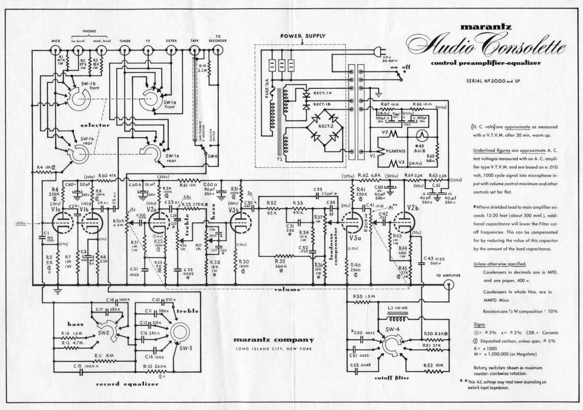 Schema Elettrico Zbx74 78 : Construction d une entrée phono mono multi courbes à