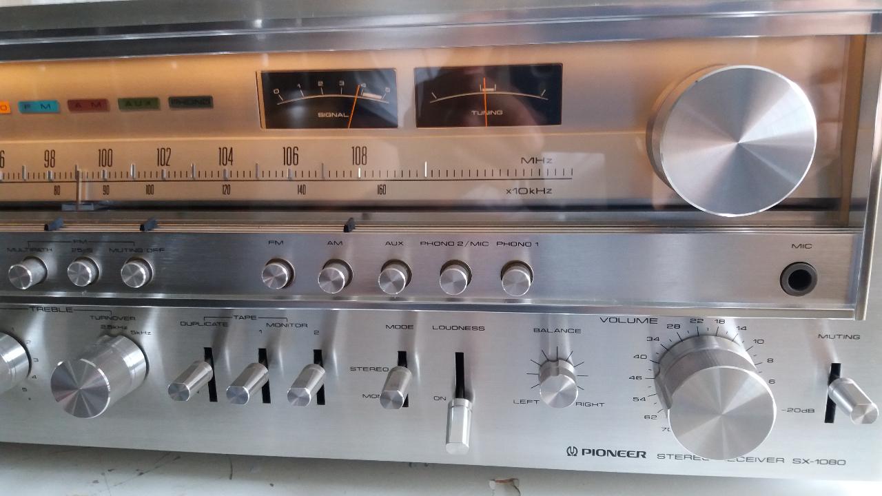 Pioneer SX-1080 - Le forum Audiovintage