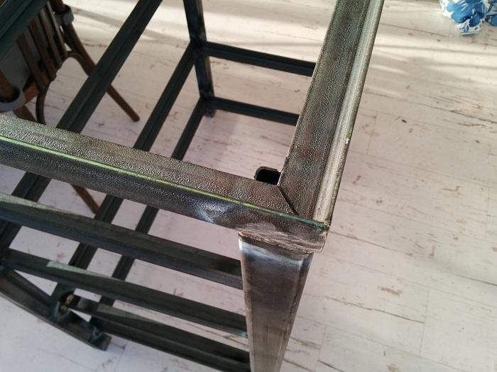 meuble diy bois et acier le forum audiovintage. Black Bedroom Furniture Sets. Home Design Ideas