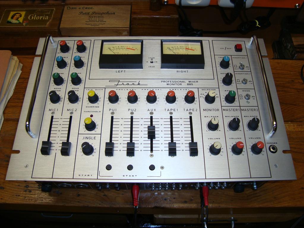 table de mixage diy