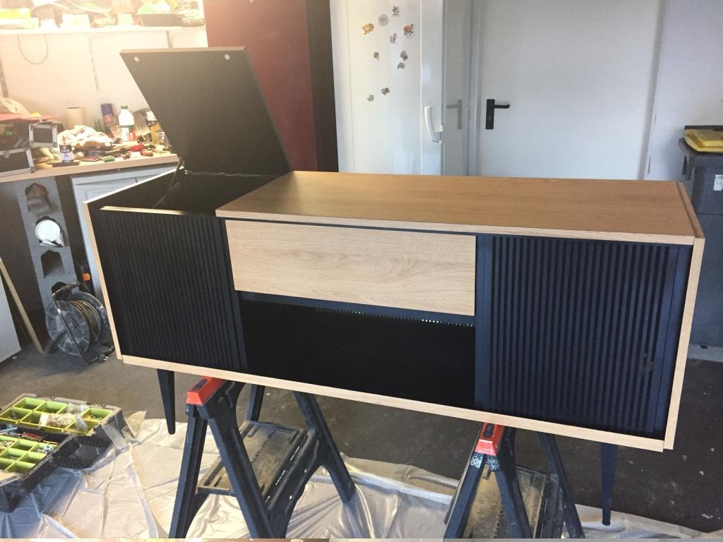 restauration meuble radio grundig page 3 le forum audiovintage. Black Bedroom Furniture Sets. Home Design Ideas