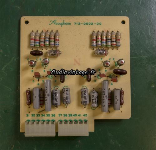Accuphase E-202 : circuit tonalité à réviser.