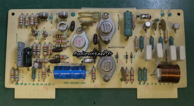 Accuphase E-202 : circuit driver révisé.