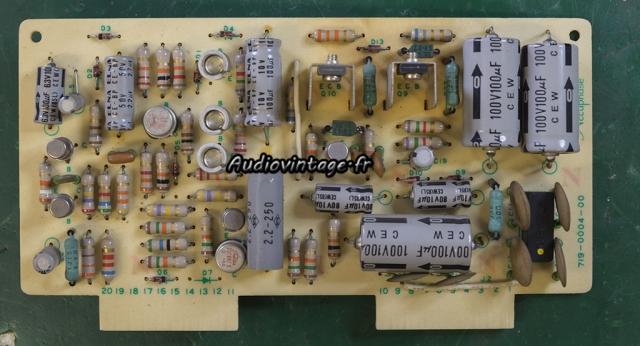 Accuphase E-202 : circuit alimentation à revoir.