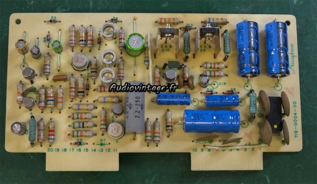 Accuphase E-202 : circuit alimentation révisé.
