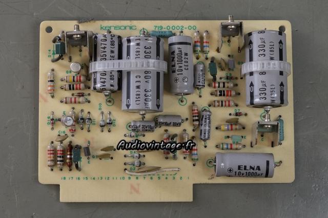 Accuphase P-300 : circuit alimentation à réviser.