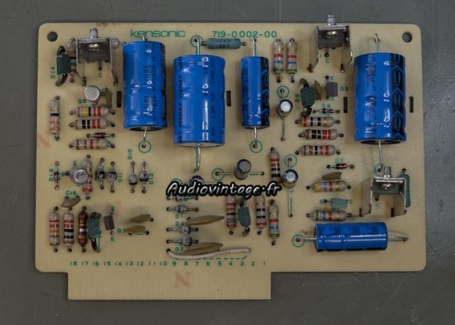 Accuphase P-300 : circuit alimentation révisé.