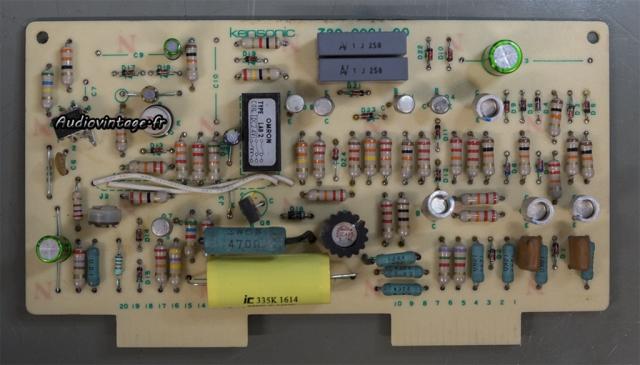 Accuphase P-300 : circuit de protection révisé.