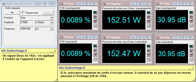 Accuphase P-300 : distorsion-a-2x150w-sous-8-ohms