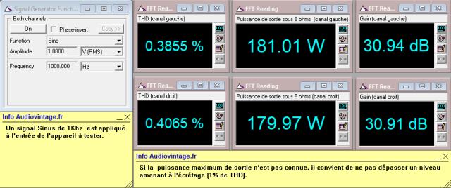 Accuphase P-300 : distorsion-a-2x180w-sous-8-ohms