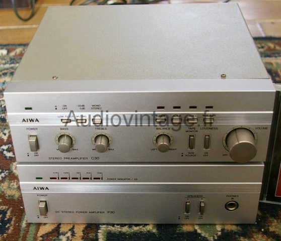 Aiwa C30 + P30