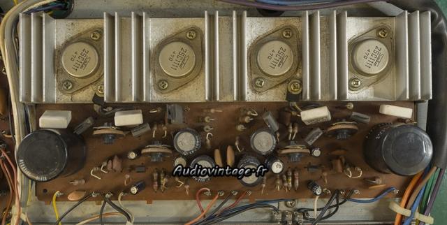 Akai AA-5510 : amplification à réviser.