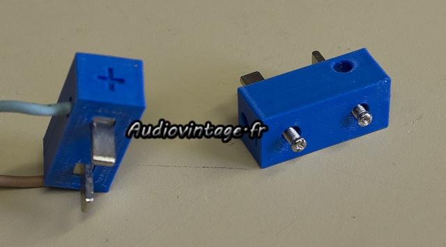 Akai AA-5510 : création d'adaptateurs HP.
