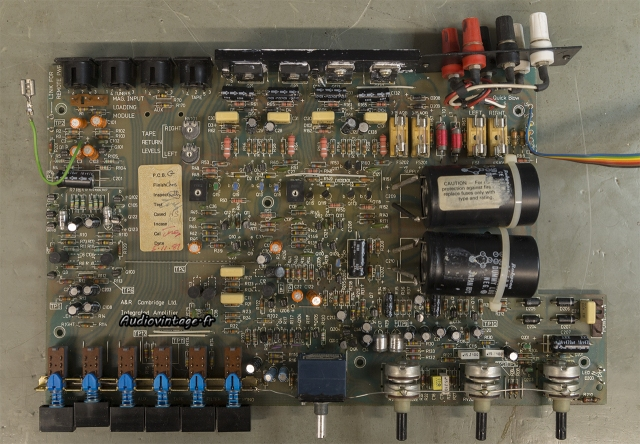 A&R Cambridge A60 :  circuit retiré.