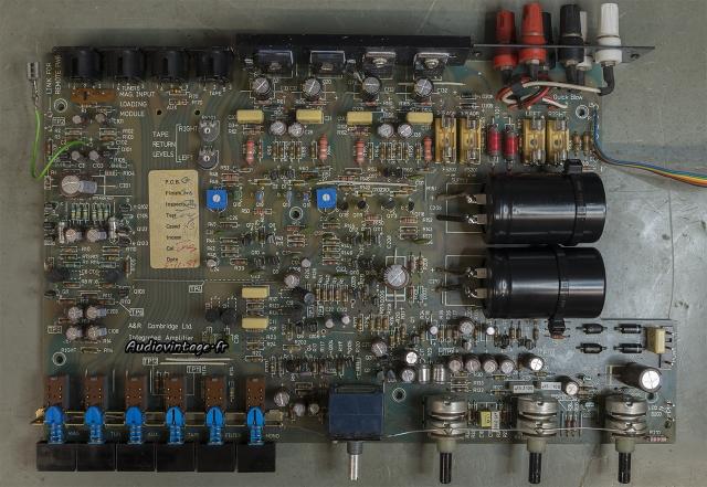 A&R Cambridge A60 : révision du circuit terminée.
