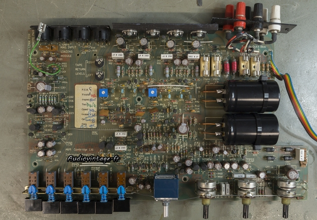 A&R Cambridge A60 : circuit révisé.