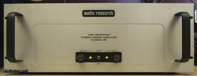 Audio Research Classic 60 : on doit pouvoir s'y retrouver :)
