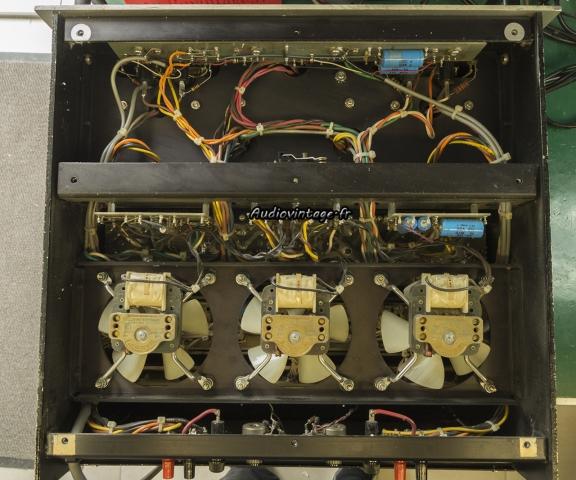 Audio Research D-79A : à son arrivée.