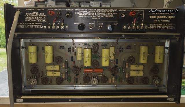 Audio Research D-79A : il y a du monde !