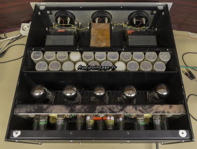 Audio Research D-79A : tubes en place !