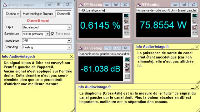 Audio Research D-79A : diaphonie-du-canal-gauche-sur-le-canal-droit-à-puissance-nominale-sous-8-ohms