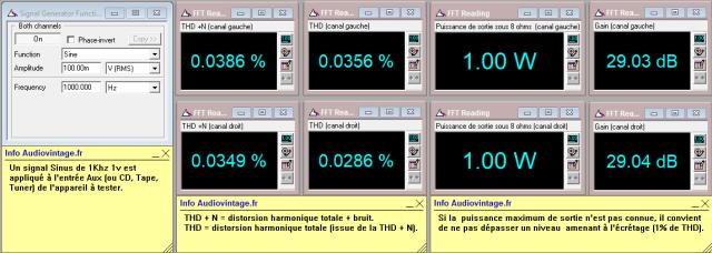 Audio Research D-79A : distorsion-à-2x1w-sous-8-ohms