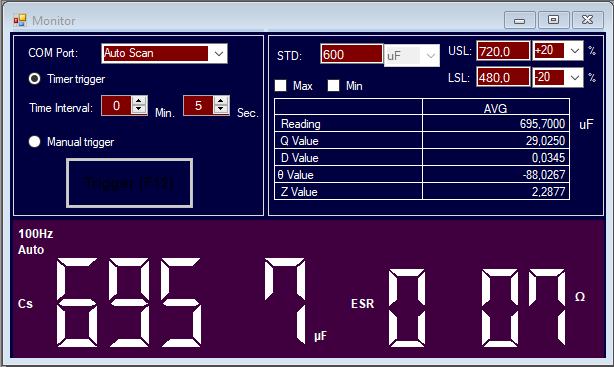 Audio Research D-79A : test d'un condensateur Mallory.