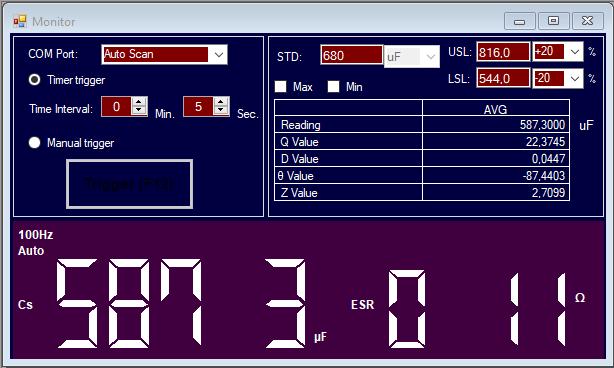 Audio Research D-79A : test d'un condensateur Panasonic HC neuf.