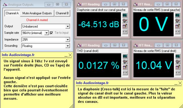 Audio Research SP-7 : diaphonie-droit-sur-gauche-10v-en-sortie-entrée-aux
