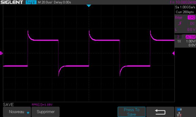 Audio Research SP-7 : signal-carré-à-10khz