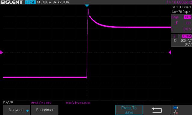 Audio Research SP-7 : temps-de-montée-à-10khz