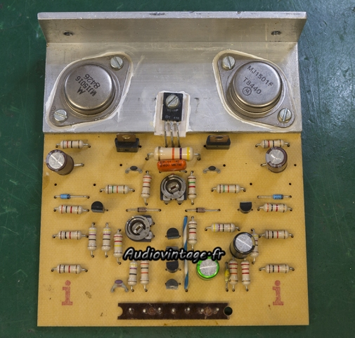 Audioanalyse A9 : circuit driver révisé.