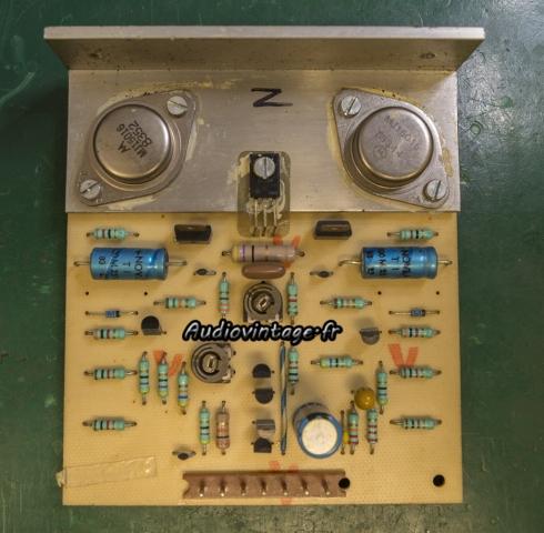 Audioanalyse A9 : circuit driver retiré.