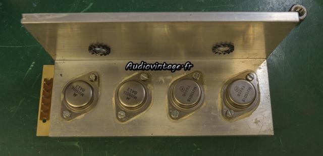 Audioanalyse A9 : transistors kaput !