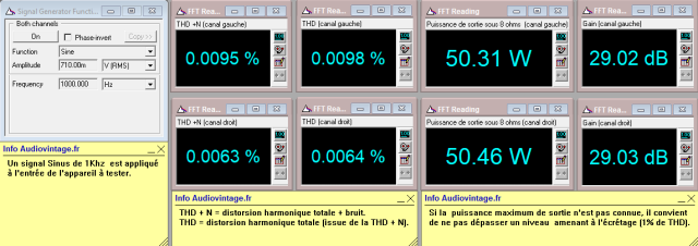 Audioanalyse A9 : distorsion-a-2x50w-sous-8-ohms