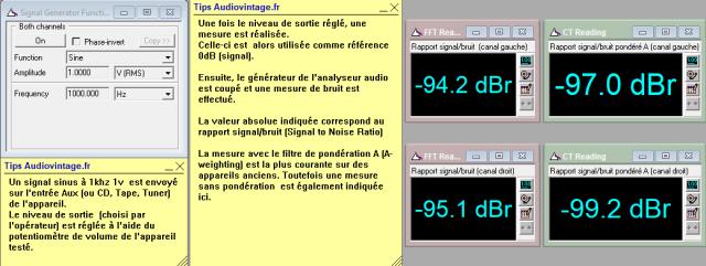 Carver C-1 : rapport-signal-bruit-a-1v-en-sortie-entree-aux-tone-defeat