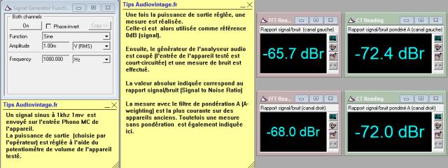 Cyrus One : rapport-signal-bruit-a-2x25w-sous-8-ohms-entree-phono-MC