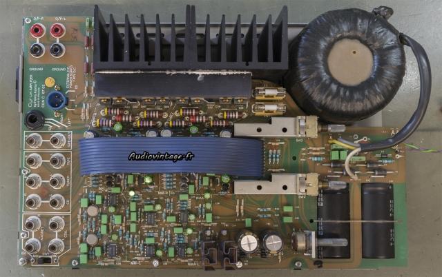 Mission Cyrus Two : condensateurs remplacés.