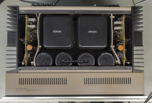 Denon POA-1003 : à son arrivée.