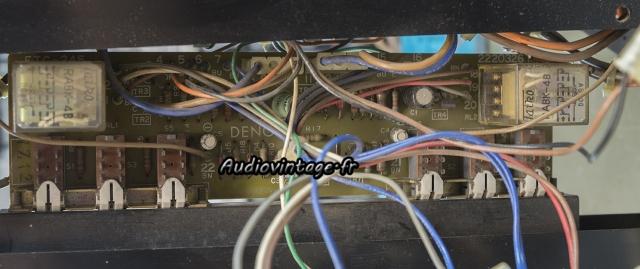 Denon POA-1003 : circuit de protection et subsonic à revoir.