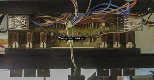 Denon POA-1003 : circuit de protection et subsonic révisé.