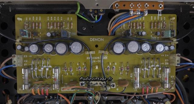 Denon POA-1003 : alimentation à revoir.