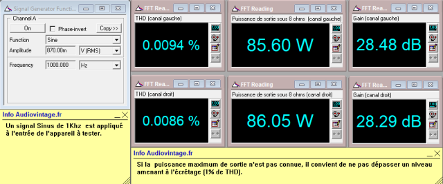 Denon POA-1003 : distorsion-a-2x85w-sous-8-ohms
