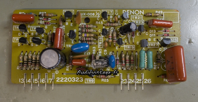 Denon PRA-1003 : circuit à revoir.