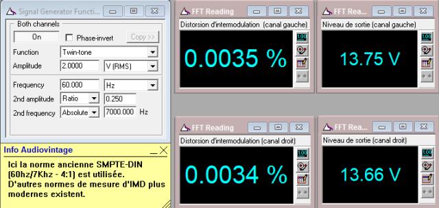 Denon PRA-1003 : IMD-a-13v-en-sortie-entree-aux-tone-defeat