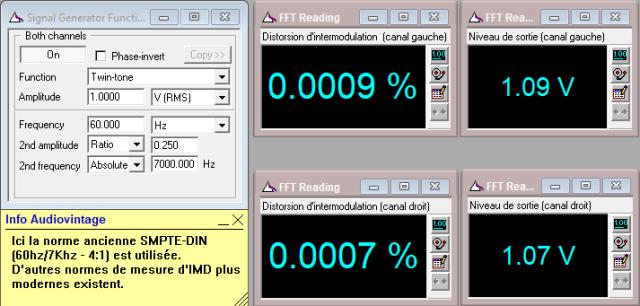 Denon PRA-1003 : IMD-a-1v-en-sortie-entree-aux-tone-defeat