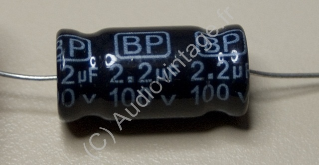 condensateur bipolaire
