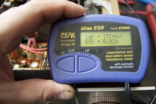 Peak ESR meter